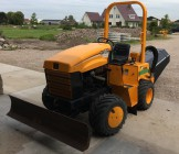 Ditch Witch RT40 grondsleuf machine met Deutz motor