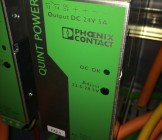 Phoenix Contact Quint PS 24 volt 5 AMP din-rail netvoeding